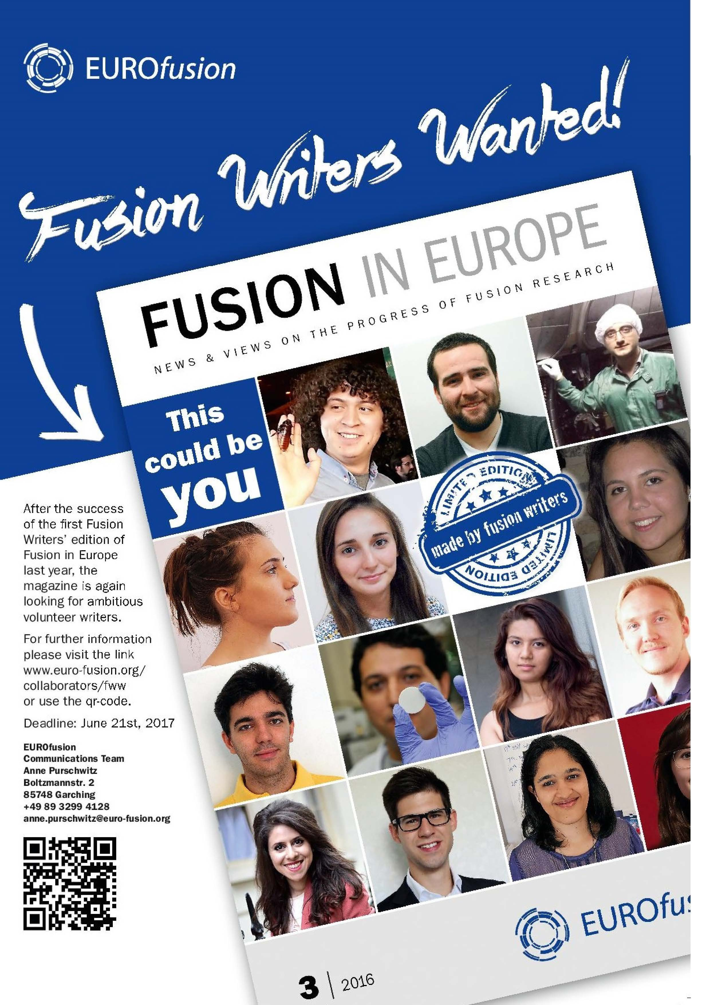 Flyer FusionWriters 2017
