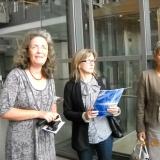 Laureaci konkursu o fuzji ze swoimi nauczycielami w Greifswaldzie, wrzesień 2011