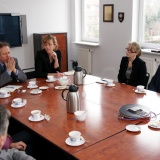 Visit of delegates from Embassy of France