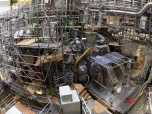 The Wendelstein 7-X fusion device before its first plasma