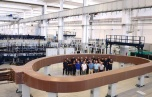 Impressive progress of ITER's first Toroidal Field coil is